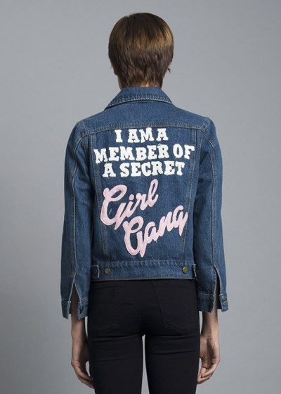 Girl Gang Denim Jacket by High Heels Suicide